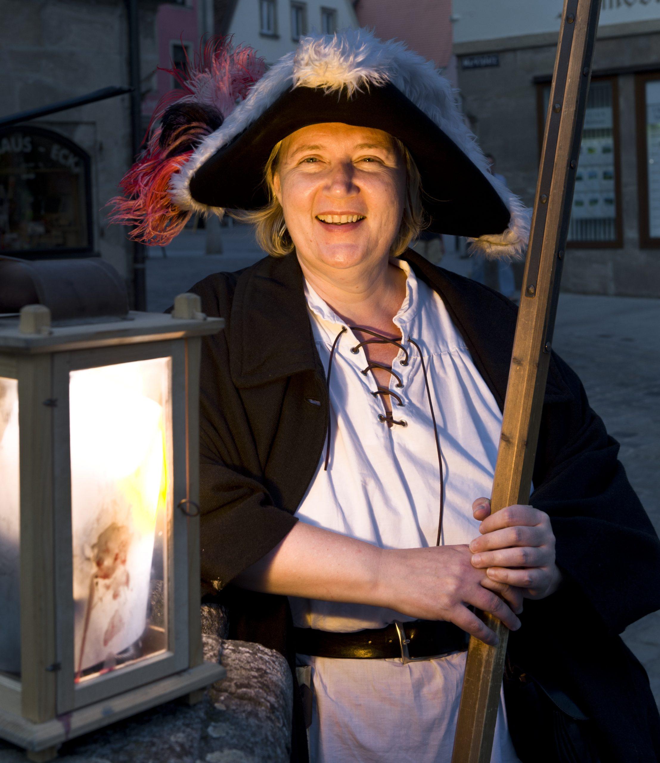 Die Weißenburger Nachtwächterin Dr. Ute Jäger