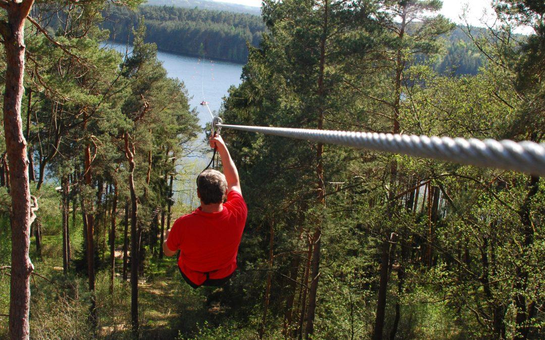Erlebnis im Kletterwald Enderndorf