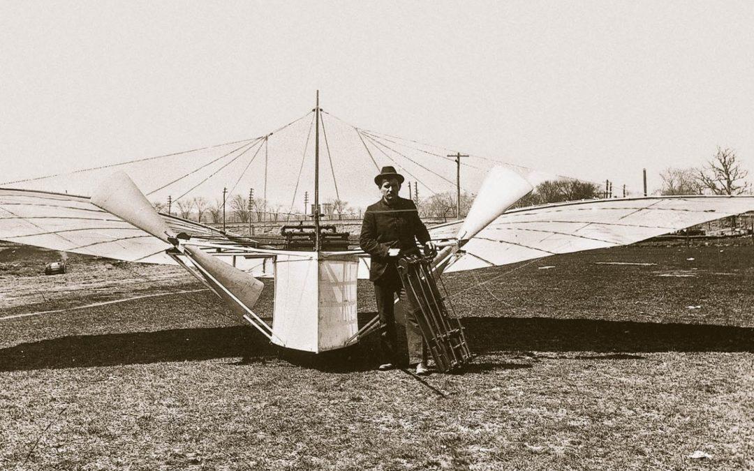 Der Krimi um den ersten Motorflug der Welt