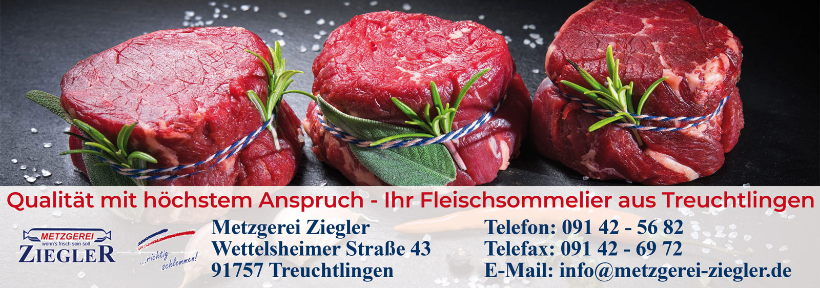 Metzgerei Ziegler – Fleischsommelier in Treuchtlingen