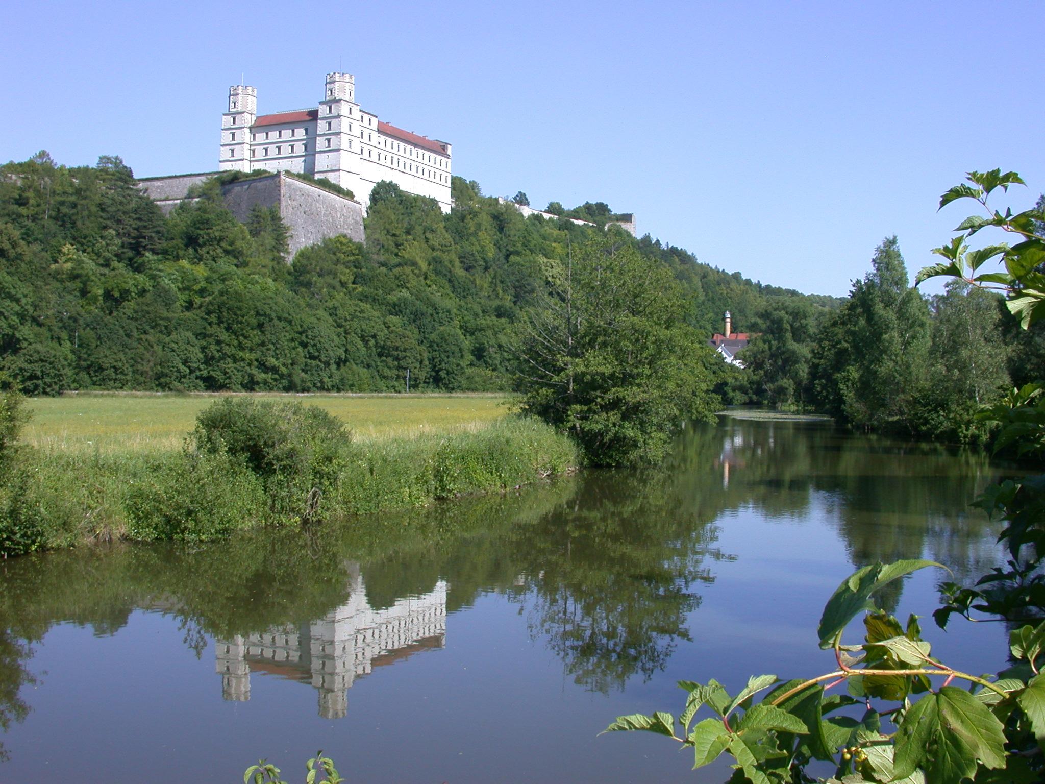 Die Willibaldsburg bei Eichstätt