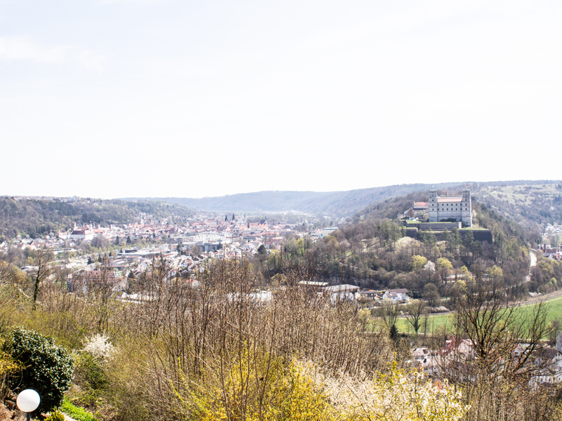 Eichstätt – barockes Zentrum im Altmühltal