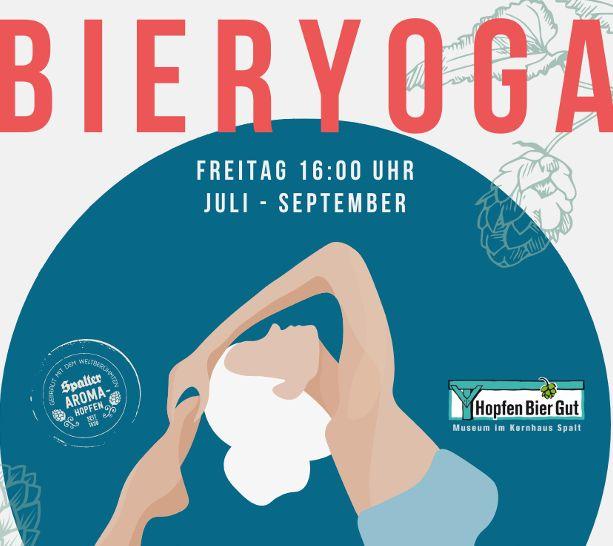Yoga und Bier in Spalt