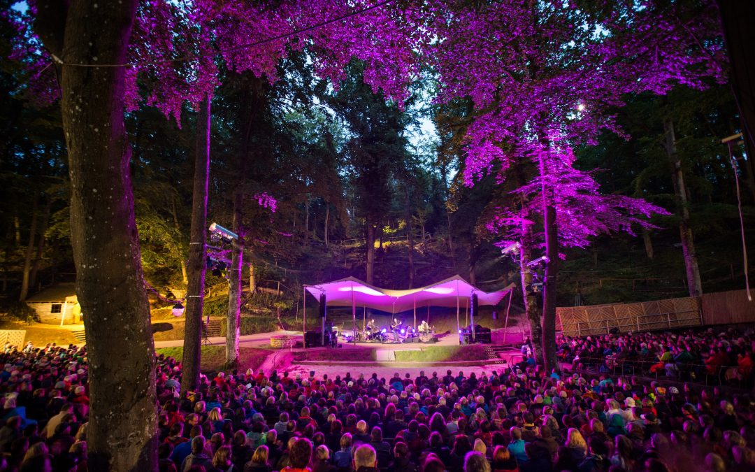 Das Bergwaldtheater: Wurzelplätze und Kulturhighlights