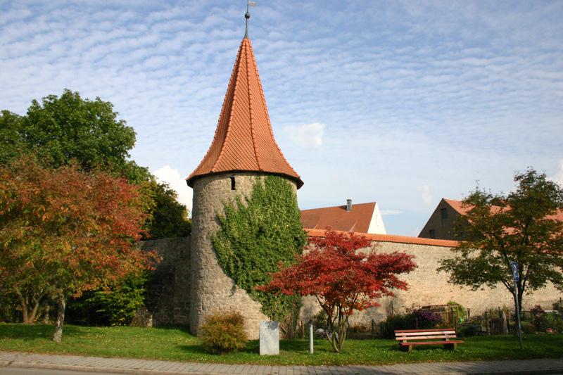 merkendorf stadtmauer